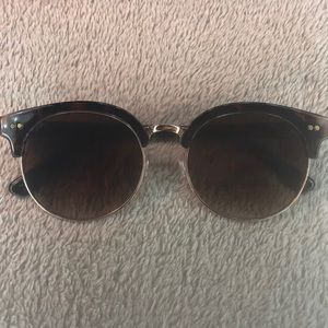 Nordstrom Faux Turtle Shell Sunglasses
